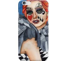 Harlequin - watercolor iPhone Case/Skin