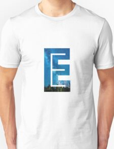 The Letter E - Starry Night T-Shirt