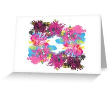 Life and Death Greeting Card