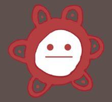 Taino Sun Poker Face One Piece - Short Sleeve