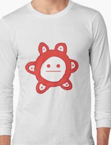 Taino Sun Poker Face Long Sleeve T-Shirt