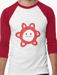 Taino Sun Poker Face Men's Baseball ¾ T-Shirt