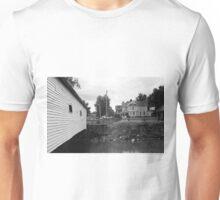 Elizabethton, TN, Covered Bridge and Mansion Unisex T-Shirt