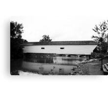 Elizabethton, Tennessee, Covered Bridge, 2008 Canvas Print