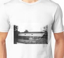 Elizabethton, Tennessee, Covered Bridge, 2008 Unisex T-Shirt