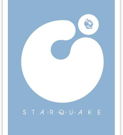 Starquake Sticker