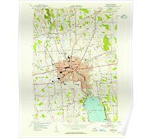 New York NY Auburn 136739 1954 24000 Poster