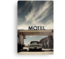 Mojave Desert Motel Metal Print
