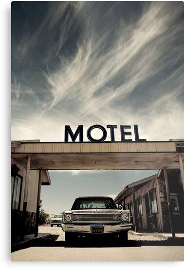Mojave Desert Motel by Graham Gilmore