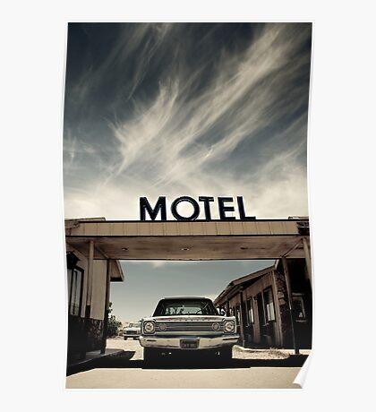 Mojave Desert Motel Poster