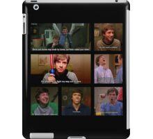 Eric Forman Quotes iPad Case/Skin