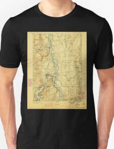 New York NY Ticonderoga 144322 1896 62500 T-Shirt