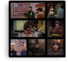 Michael Kelso Quotes Canvas Print