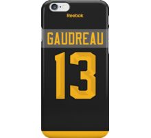 Calgary Flames Johnny Gaudreau NHL All-Star Black Jersey Back Phone Case iPhone Case/Skin