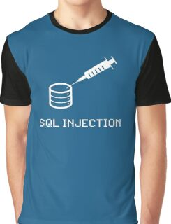 SQL Injection Graphic T-Shirt