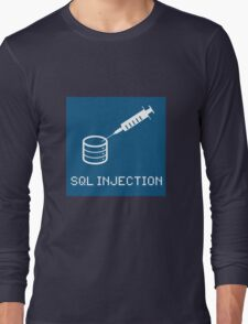 SQL Injection Long Sleeve T-Shirt