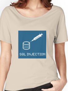 SQL Injection Women's Relaxed Fit T-Shirt