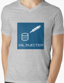 SQL Injection Mens V-Neck T-Shirt