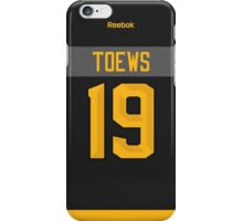 Chicago Blackhawks Jonathan Toews NHL All-Star Black Jersey Back Phone Case iPhone Case/Skin