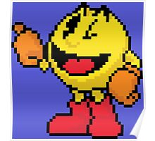 Pixel Pacman Poster