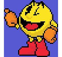 Pixel Pacman Photographic Print