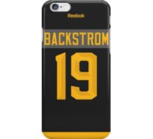 Washington Capitals Nicklas Backstrom NHL All-Star Black Jersey Back Phone Case iPhone Case/Skin