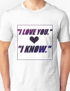 We All Know T-Shirt