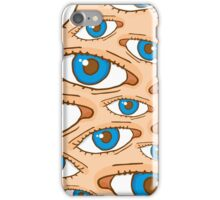 Big brother eye texture iPhone Case/Skin