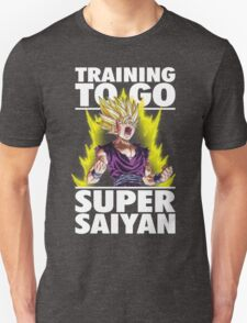 Training To Go Super Saiyan (Teen Gohan) T-Shirt