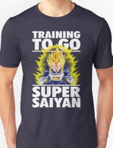 Training To Go Super Saiyan (Vegeta) T-Shirt