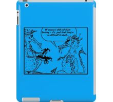 Zoo Humour - Cartoon 0014 iPad Case/Skin