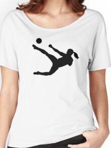 Women soccer Women's Relaxed Fit T-Shirt
