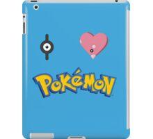 I Love Pokemon iPad Case/Skin