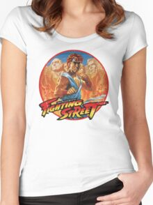 Fighting Street Women's Fitted Scoop T-Shirt