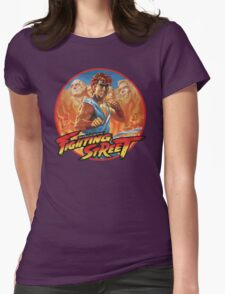 Fighting Street Womens Fitted T-Shirt
