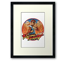 Fighting Street Framed Print