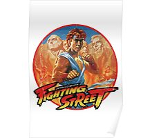 Fighting Street Poster