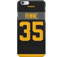 Nashville Predators Pekka Rinne NHL All-Star Black Jersey Back Phone Case iPhone Case/Skin
