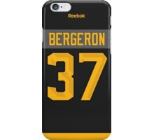 Boston Bruins Patrice Bergeron NHL All-Star Black Jersey Back Phone Case iPhone Case/Skin