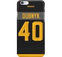 Minnesota Wild Devan Dubnyk NHL All-Star Black Jersey Back Phone Case iPhone Case/Skin