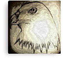 eagle-kartal Canvas Print