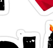 The 100 - I Love Polis Sticker