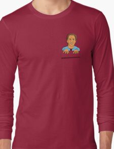 Nicolas Cage in your pocket! Long Sleeve T-Shirt