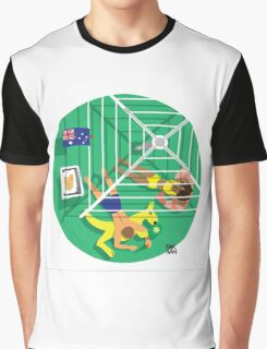 From Above: Australia Day Graphic T-Shirt