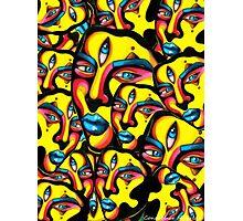 Gemini - Psychedelic Print  Photographic Print