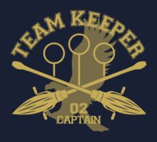 Ravenclaw - Quidditch - Team Keeper by aurorpotter