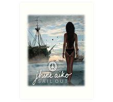 """Sail Out"" EP Cover (2013) Art Print"