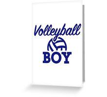 Volleyball boy Greeting Card