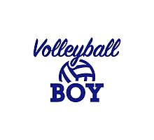 Volleyball boy Photographic Print