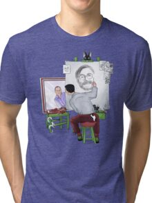 Animator self portrait Tri-blend T-Shirt